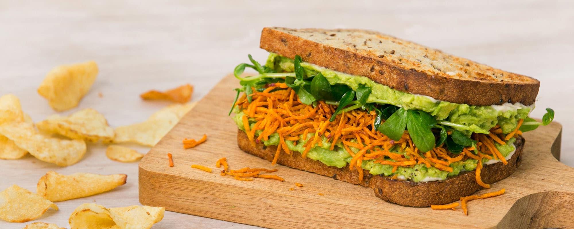 Vegan Hippy Sandwich